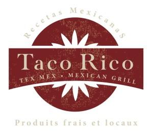 TACO RICO- logo 2 variantes