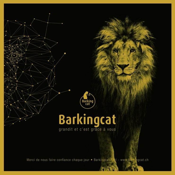 Barkingcat- carte voeux